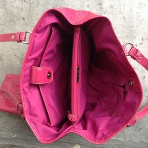 Nine West Bags - Nine West Pink Patent Handbag 4