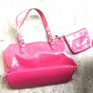 Nine West Bags - Nine West Pink Patent Handbag 2