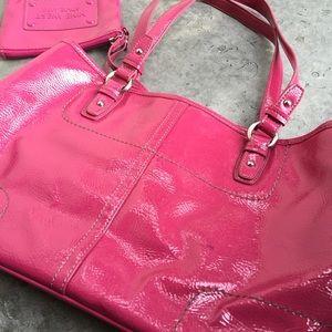 Nine West Bags - Nine West Pink Patent Handbag 3