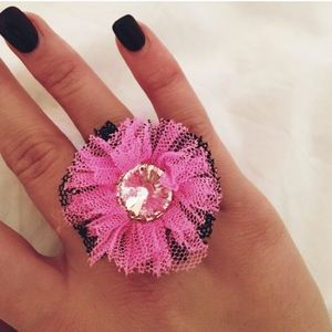 • Authentic Betsey Johnson Ring •