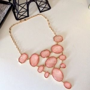  PM EDITOR PICK  Pink bauble necklace