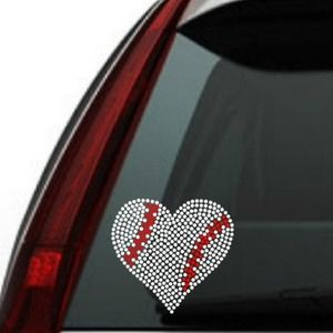 Rhinestone car decals custom