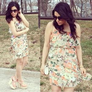 Charlotte Russe Dresses & Skirts - Floral Print Dress