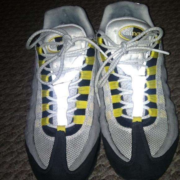quality design 5feae 7a679 Black, yellow , gray air max 95 Men's