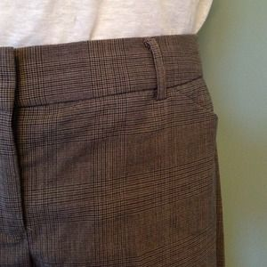 Express Pants - Express editor fit modern plaid work pants