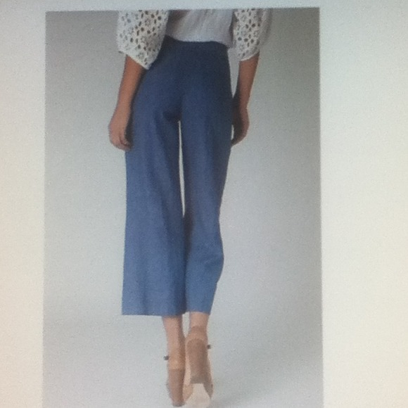 76% off Anthropologie Pants - Anthropologie elevenses cropped ...