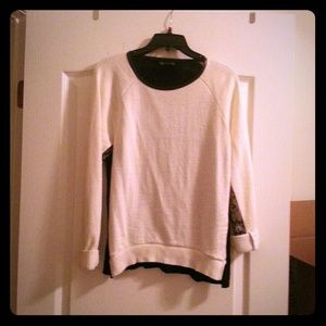 Zara Colorblock Sweater
