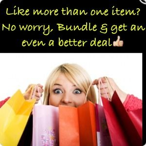 👗More discounts for bundles Tb