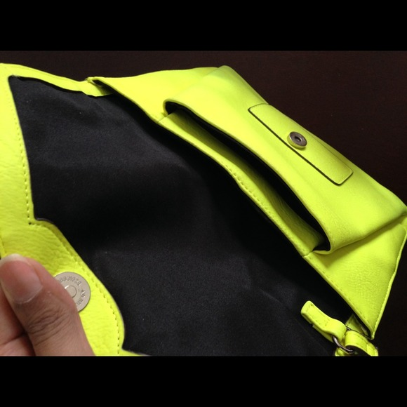 Mossimo Supply Co. Bags - Neon Green/Yellow Clutch