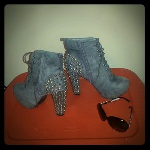 Platform spikes heels