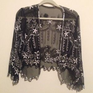 **BUNDLED** Bohemian beaded & embroidered cardigan