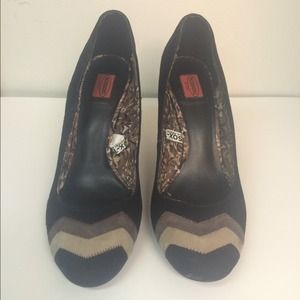 Missoni Shoes - Missoni for Target Suede Zig Zag Pumps
