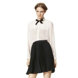 Jason Wu Target black pleated skirt