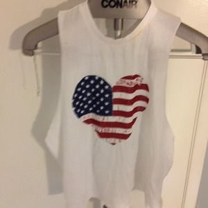 Brandy Melville USA heart tank