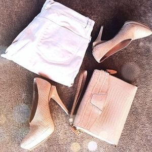 Authentic Alexander Wang Snakeskin Heels