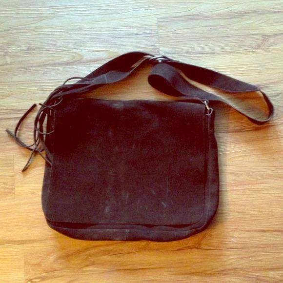 Banana Republic Bags   Brown Leather Messenger Bag   Poshmark 1c08658667