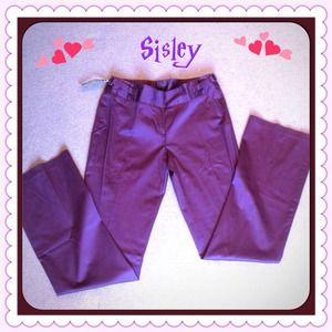 Sisley Pants - 🎉HOST PICK 12/30🎉🌸Made in ITALY! Sisley pants🌸