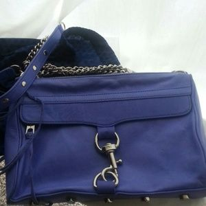 Rebecca minkoff  purple mac handbag