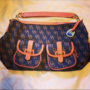 Vintage Dooney & Bourke Pretty in Pink