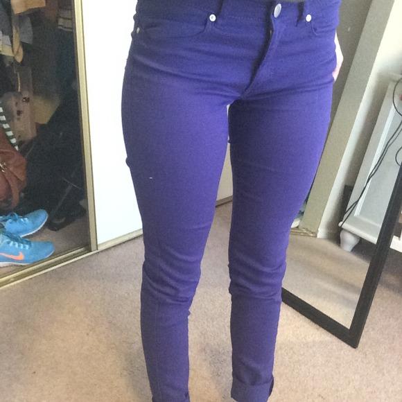 H&m Blue Purple Jeans