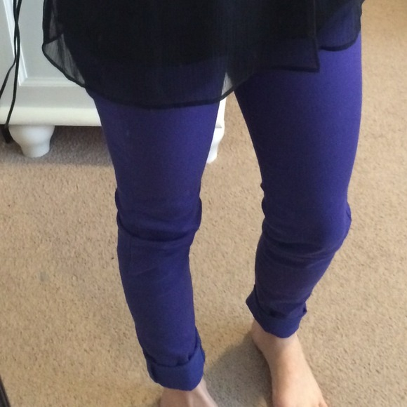 H&m Blue Purple Jeans