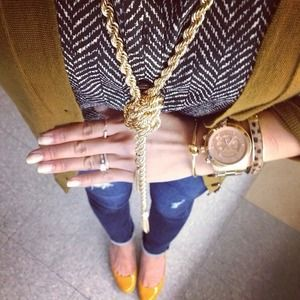 Jewelry - Long Tassel Necklace