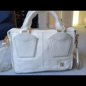 NWT Authentic White Botkier Ludlow Mini Satchel