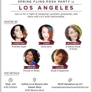 You're Invited: LIVE LA Posh Party!