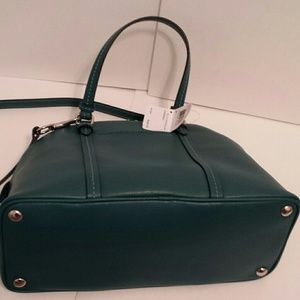 Coach Bags - FLASH SALE NEW Coach Cora domed leather satchel 2