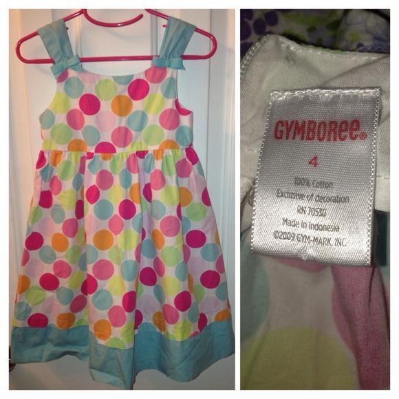 Crazy8 by Gymboree Heather Grey White Polka Dot Dress NWT 5 6 7 8