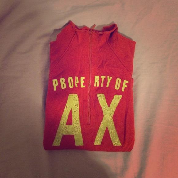 A/X Armani Exchange Sweaters - Armani Exchange - red sweater