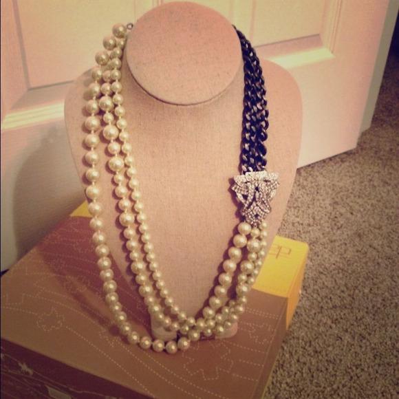 41a2897ddeed0 Stella & Dot - daisy pearl necklace