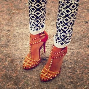 Zara Shoes - Zara Studded Sandals