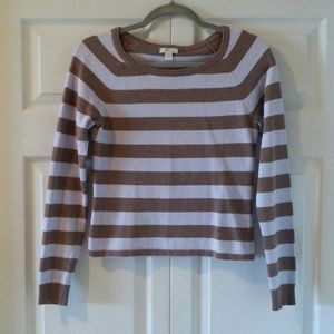American Eagle Striped Sweater - Size M