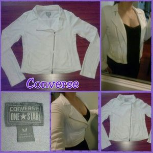 Converse One*Star Sweater Jacket Moto Style