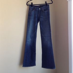 {REDUCED} 7 for all mankind boot cut jeans