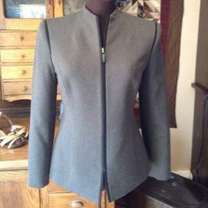 Le Suit Jackets & Blazers - LeSuit jacket black and brown size 4 P