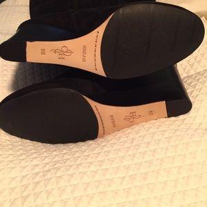 60 cole haan shoes cole haan nwb cora black suede