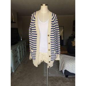 J. Crew Sweaters - Chunky striped sweater