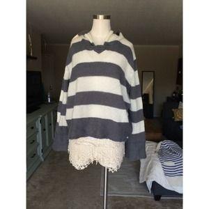 Roxy Sweaters - Oversized hooded sweater
