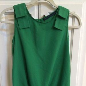 Zara Green Blouse 31