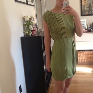 Pale Green Dress - Size 0