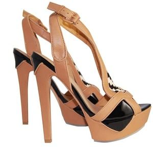 L.A.M.B. Shoes - SOLD - NIB L.A.M.B Oldwyn Pony Hair Heels 2