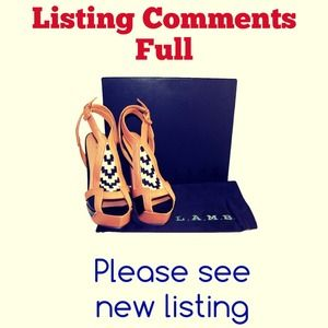 L.A.M.B. Shoes - SOLD - NIB L.A.M.B Oldwyn Pony Hair Heels 1