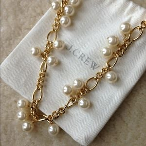J.crew faux pearl necklace