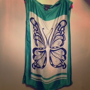 venus Dresses - Silk Butterfly Dress