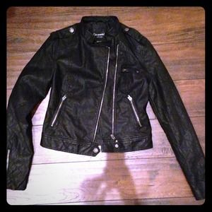 Aeropostale Jackets & Blazers - NWOT Faux Leather Moto Jacket