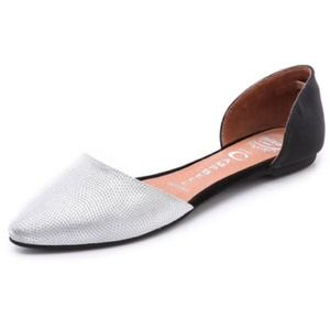 Jeffrey Campbell Shoes - Jeffrey Campbell Pointy Toe D'Orsay flats