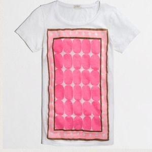 ⚡️J.crew FRAMED DOT COLLECTOR TEE
