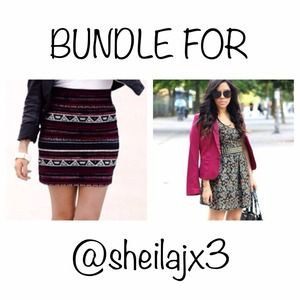 Dresses & Skirts - bundle for @sheilajx3